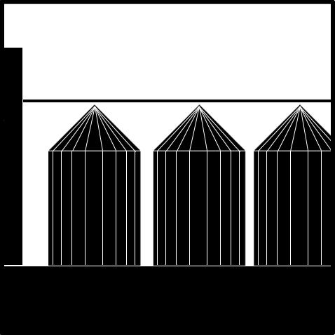 Hală și silozuri Terracult